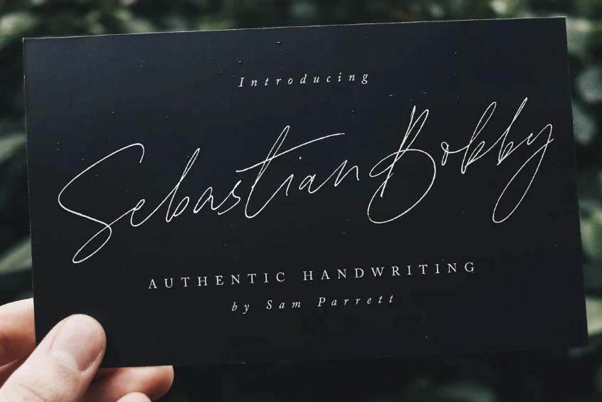Realistic Pen Style Fonts