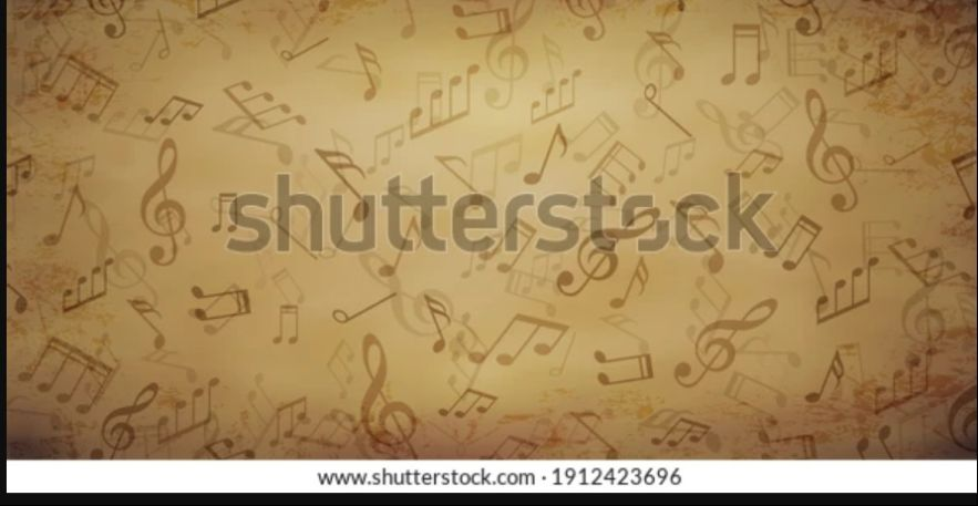 Retro Music Texture
