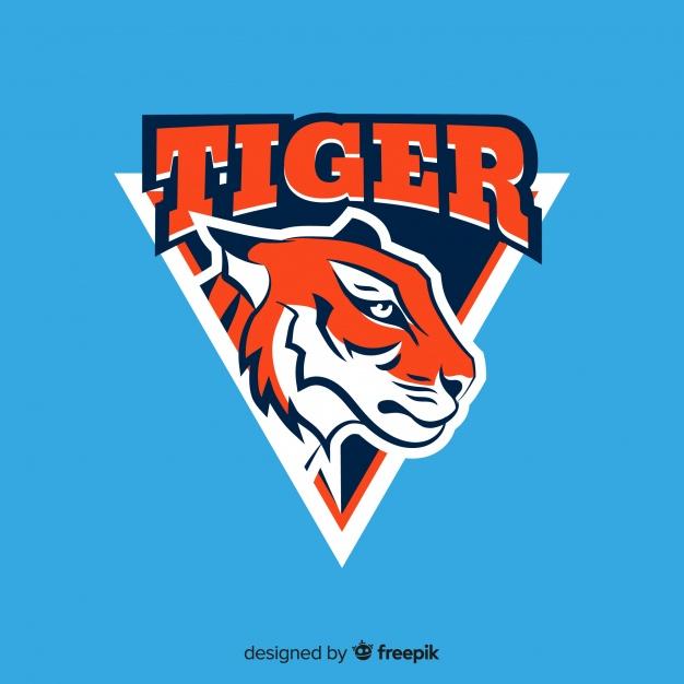 Retro Tiger Identity Concept