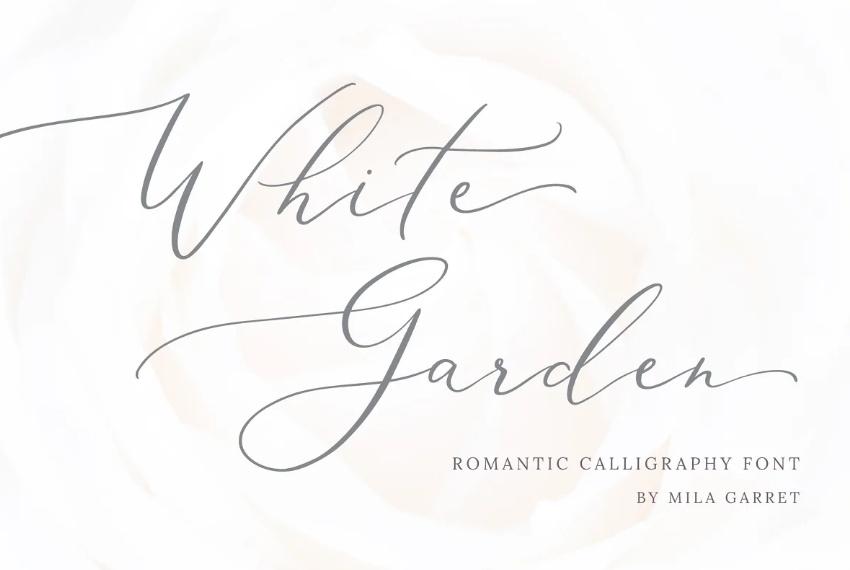 Romantic Logo Typeface