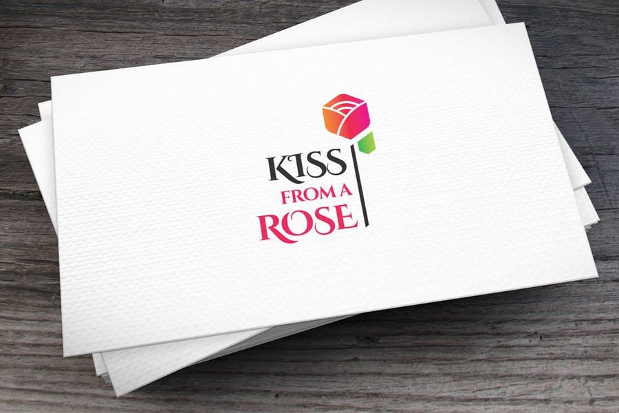 Romantic Rose Logo Identity
