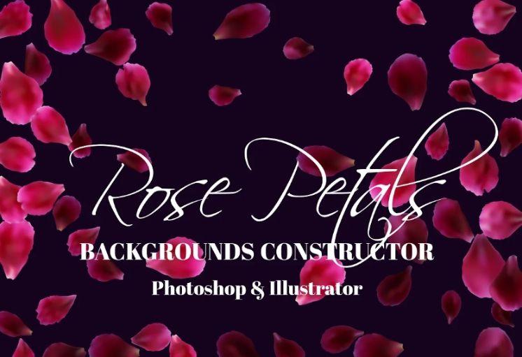 Rose Petals Background