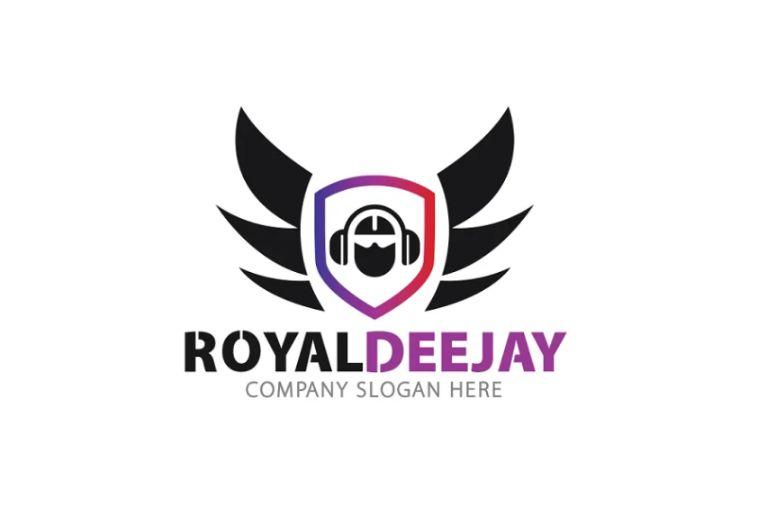 Royal Deejay Logo Template