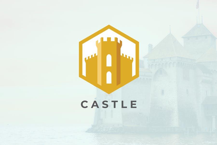 Royal Style Castle Logo Designs