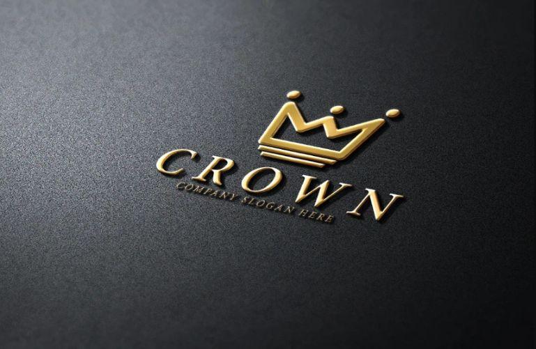 Royal Style Crown Logo Designs