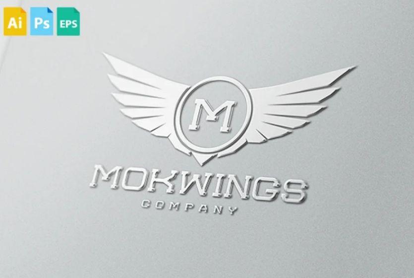 Royal Style Wings Logo Design