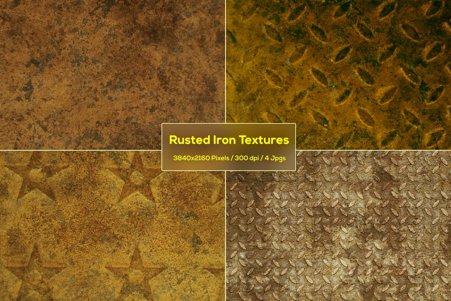 Rusted Iron Textures Pack