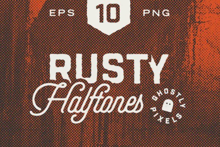 Rusty Halftone Textures