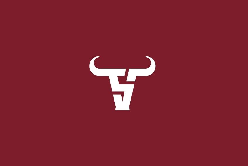S Character Bull Logo Concept
