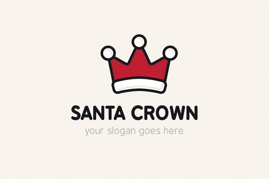 Santa Crown Identity design