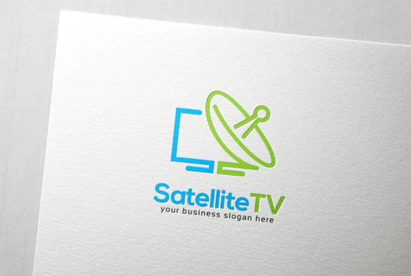 Satellite TV Logo Designs