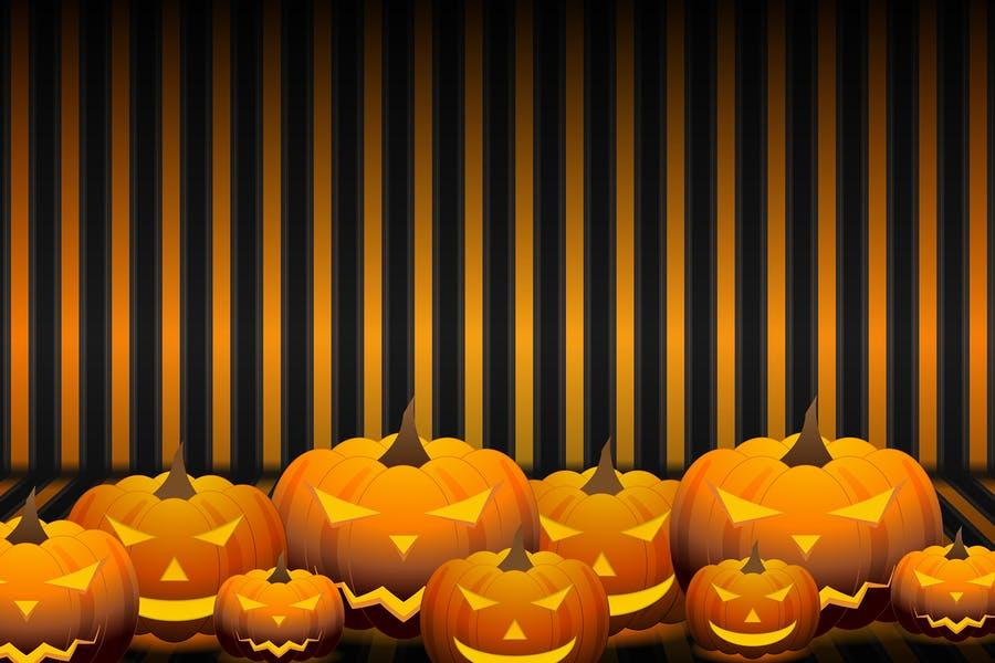 Scary Haloween Background Design