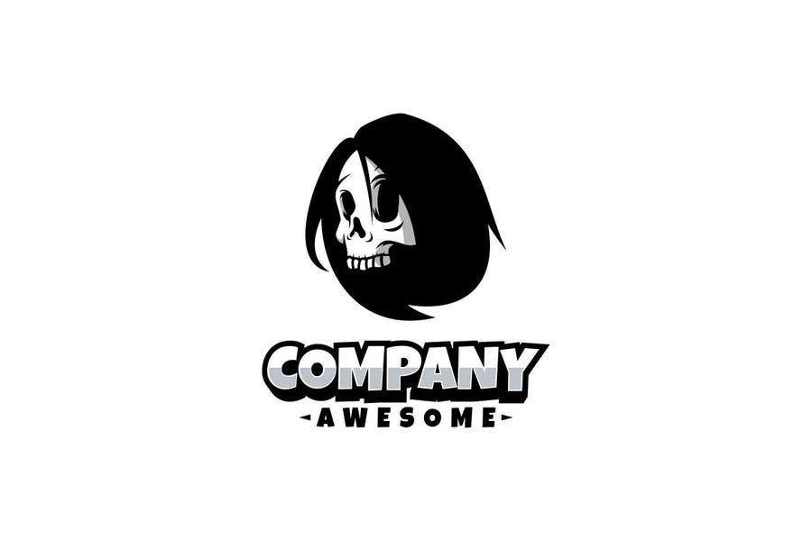 Scary Skull Logotype Design