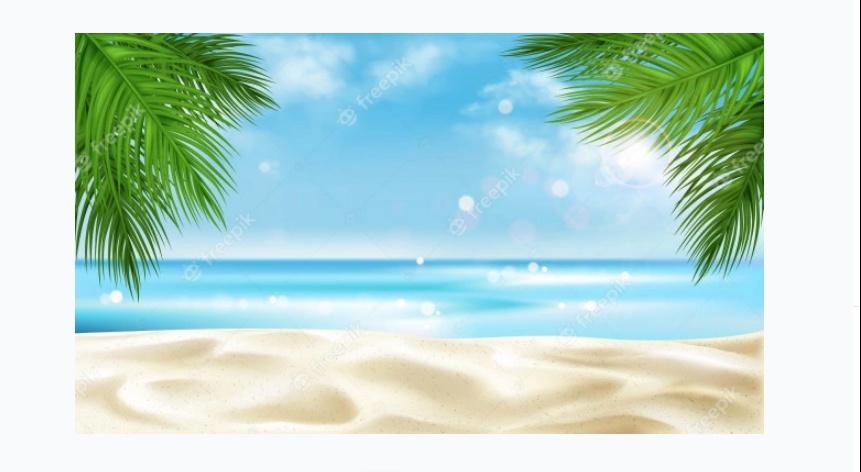 Sea Beach Background Free