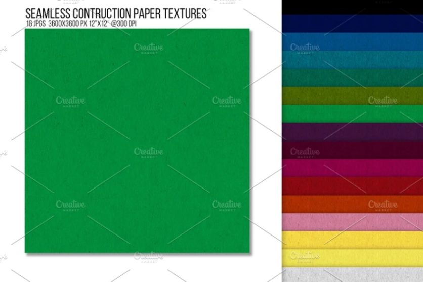 Seamless Construction Paper Textures