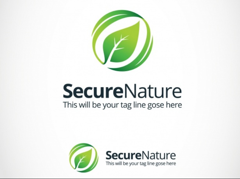 Secure Style Logo Template