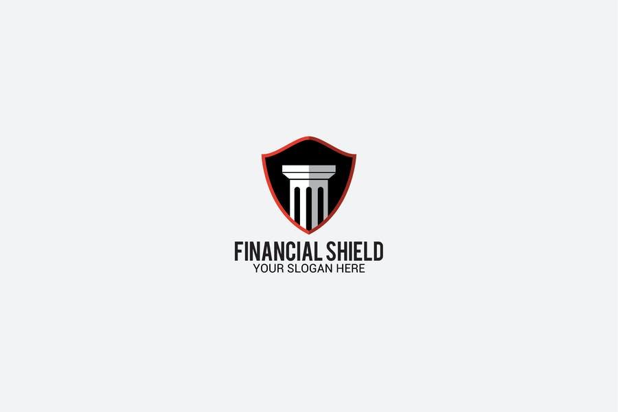 Shield Style Business Logo Design