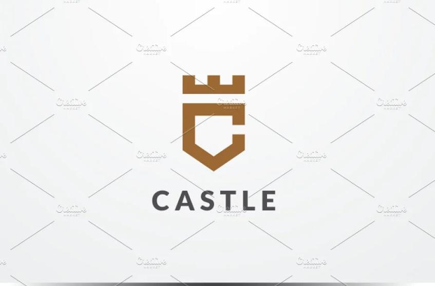 Shield Style Logo Design Template