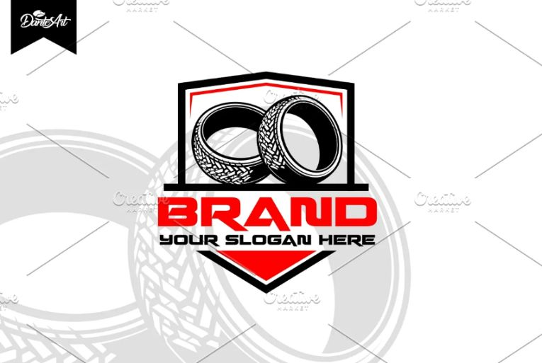 Shield Style Tire Identity Design