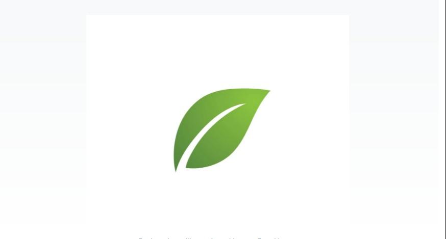 Single Leaf Logo Template