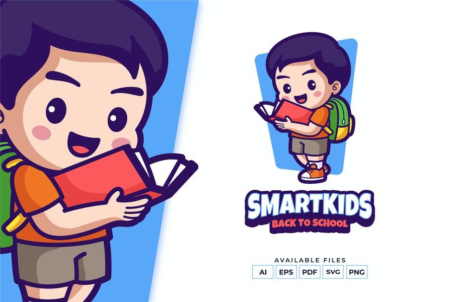 Smart Kids Logo Designs