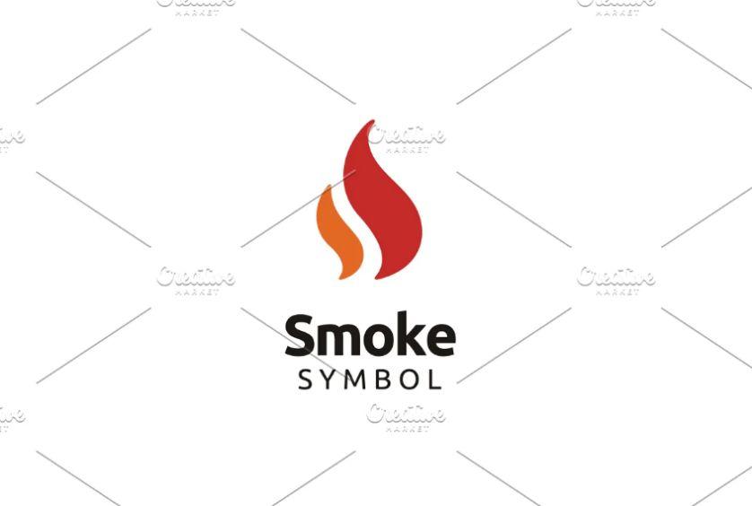 Smoke Symbol Identity Design