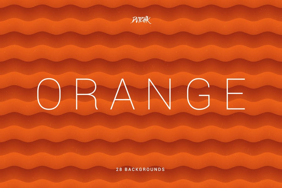 Soft Abstract Organge Backgrounds