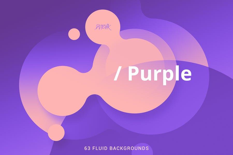 Soft Fluid Style Background