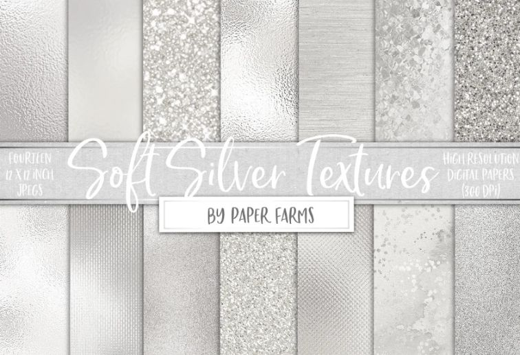 Soft foil textures design