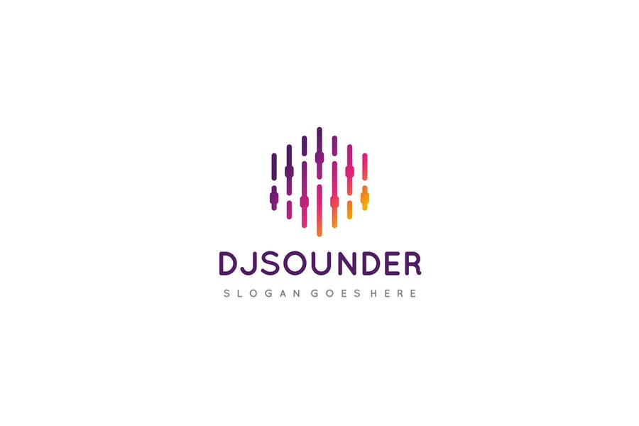 Sound Wave Logo Identity