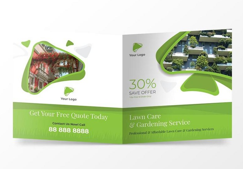 Square Gardening Services Brochure