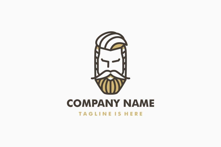 Stylish Barber Logo Design