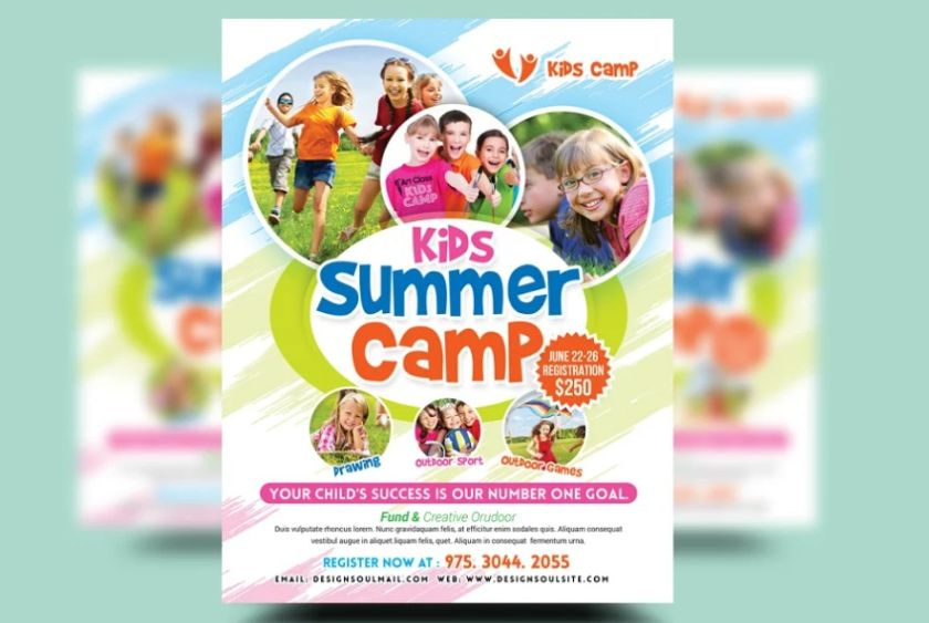 Summer Camp Promotional Templates