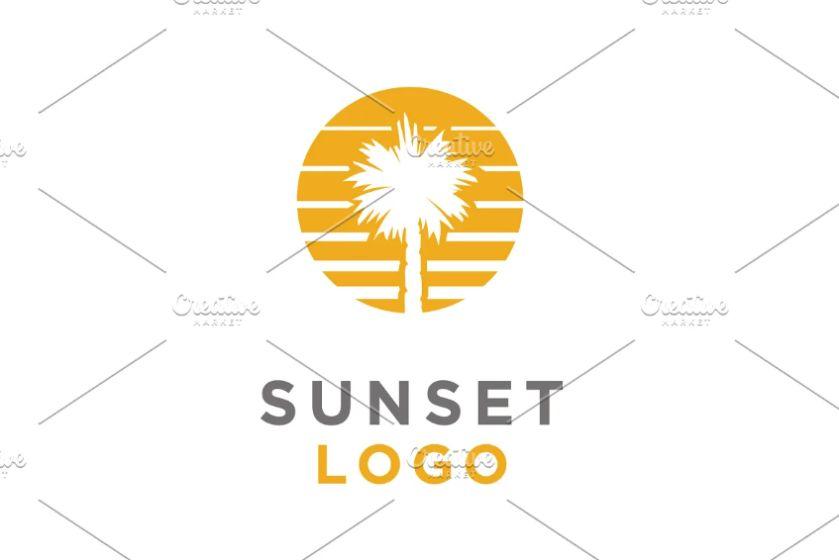 Sunset Beach Logo Identity