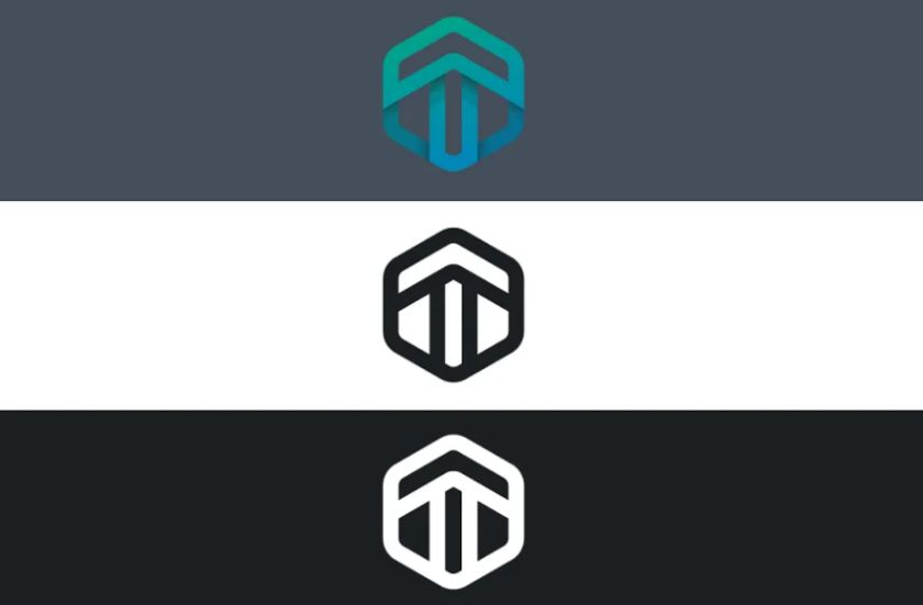 T Character Style Logo Design