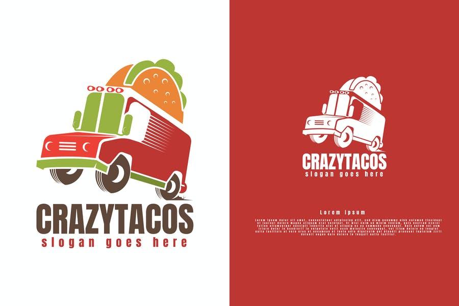 Tacos Truck Logo Design