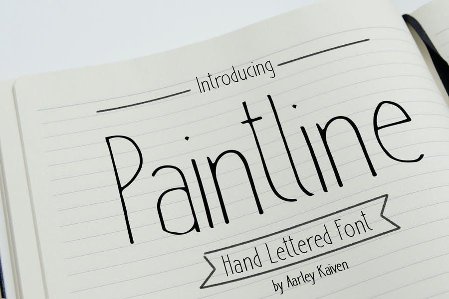 Tall and Dark Pencil Fonts