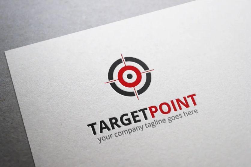 Target Point Style Logo Identity