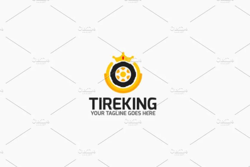 Tire King Style Identity Design