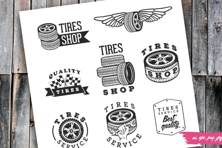 Tire Store Logo Templates