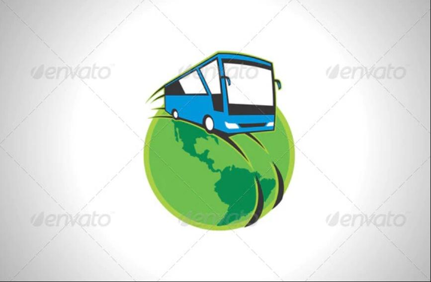 Tour Bus Logo Design
