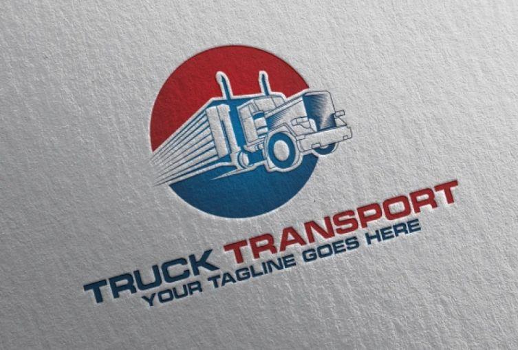 Transportation Business Logo Identity