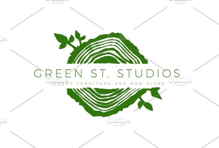 Tree Ring Logo Design Ideas