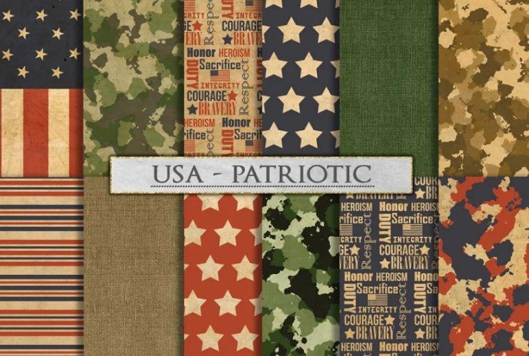 US Patriotic Patterns