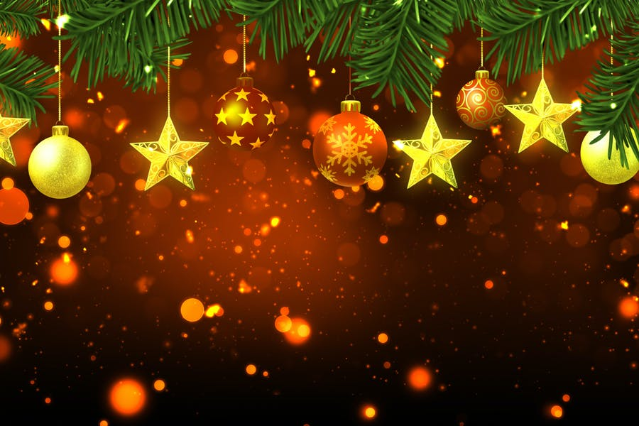 Ultra HD Christmas Background