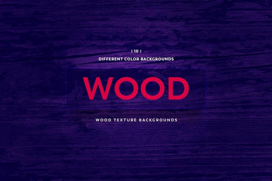 Unique Colorful Wood Textures