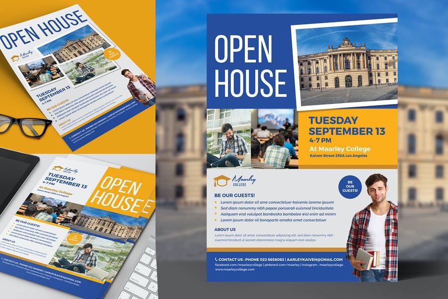 University Open House Poster