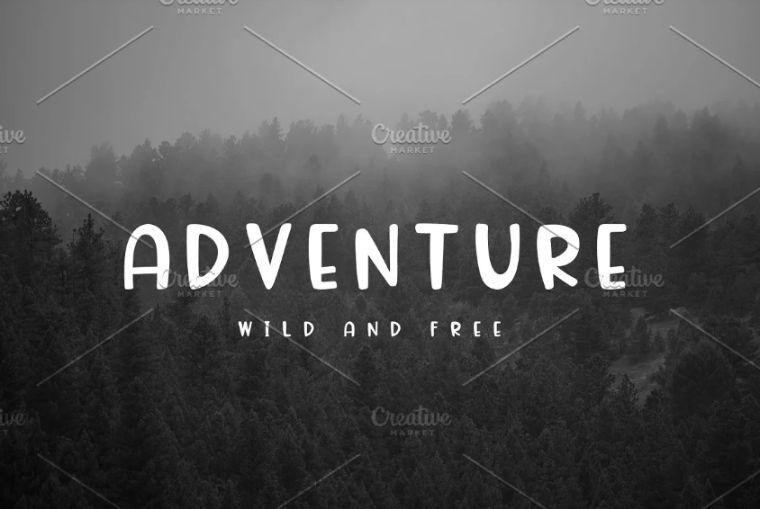 Uppercase Wild Displat Typeface