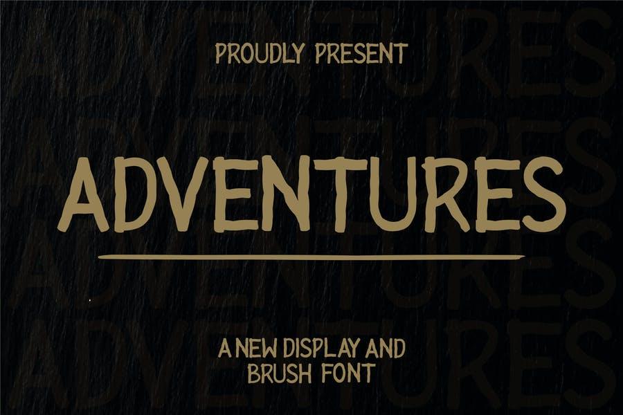 Urban Style Adventure Typeface
