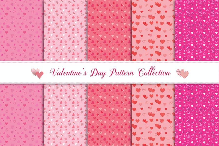 Valentines Day pattern Design